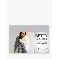Wool Couture Giant Knitted Blanket Craft Kit