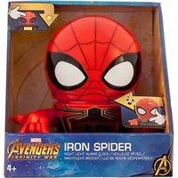 Marvel Avengers Iron Spider Night Light Alarm Clock