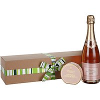 Waitrose & Partners Pink Champagne and Truffles Gift Box