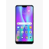 "Honor 10 Smartphone, Android, 5.84"", 4G LTE, SIM Free, 128GB Glacier Grey"