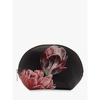 Ted Baker Marlynn Tranquillity Print Dome Makeup Bag, Black/pink