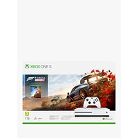 Microsoft Xbox One S Console, 1TB, with Wireless Controller and Forza Horizon 4 Bundle
