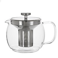House by John Lewis Glass Teapot with Infuser, 1.2L