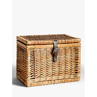 Croft Collection Wicker Trunk, Small