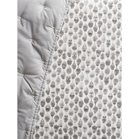 image-Pottery Barn Kids Owl Print Fitted Cot Sheet, Grey, 31 x 17cm