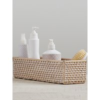 Pottery Barn Kids Quinn Changing Table Storage Basket, Natural