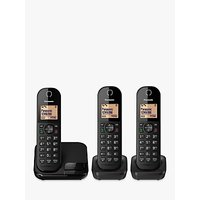 Panasonic KX-TGC413EB Digital Cordless Telephone with Nuisance Call Blocker, Trio DECT