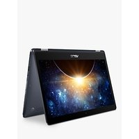 """ASUS NovaGo TP370QL Convertible Laptop, Qualcomm Snapdragon 835 Processor, 6GB RAM, 128GB SSD, 13.3"""", Full HD, 4G LTE, with 24GB data included*, Star Grey"""