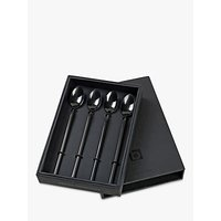 Broste Copenhagen Tvis Long Spoon Set, Black