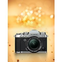 """Fujifilm X-T3 Compact System Camera with XF 18-55mm IS Lens, 4K Ultra HD, 26.1MP, Wi-Fi, OLED EVF, 3"""" LCD Touch Screen"""