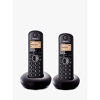 Panasonic KX-TGB212EB Digital Cordless Telephone, Twin DECT