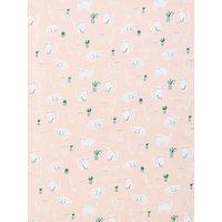 John Lewis & Partners Cats PVC Tablecloth Fabric, Plaster