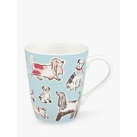 Cath Kidston Squiggle Dogs Stanley Mug, 400ml, Multi