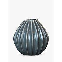 Broste Copenhagen Large Wide Vase, Mirage Blue