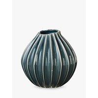 Broste Copenhagen Wide Vase, Mirage Blue