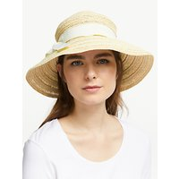 John Lewis and Partners Downturn Brim Garden Sun Hat, Natural