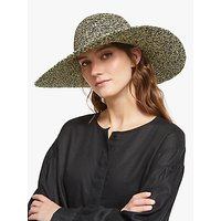 John Lewis and Partners Packable Weave Mix Floppy Sun Hat
