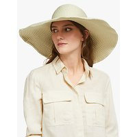 John Lewis and Partners Packable Spot Floppy Sun Hat, Natural Mix