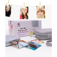 HP Sprocket 200 Portable Photo Printer, Limited Edition Gift Box, Luna Pearl