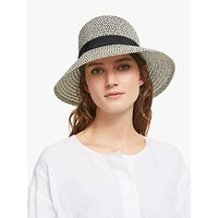 John Lewis and Partners Garden Sun Hat, Black Mix