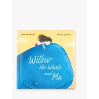 Jellycat Wilbur The Whale And Me Book