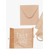 Ginger Ray Save The Date Wedding Invitations, Pack of 10