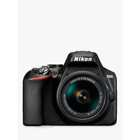 Nikon D3500 Digital SLR Camera with 18-55mm VR Lens, HD 1080p, 24.2MP, Bluetooth, 3 LCD Screen