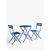 John Lewis and Partners Camden Garden Bistro Table and Chairs Set