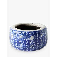 Anthropologie Marnie Pot, Mini, Blue