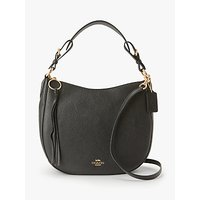 shop for Coach Sutton Pebbled Leather Hobo Bag at Shopo