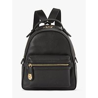 Coach Campus 23 Pebble Leather Backpack, Black