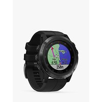 Garmin fēnix 5X Plus Sapphire GPS Multisport Watch, Black with Black Band, 5.1cm