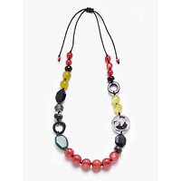 John Lewis & Partners Long Beaded Necklace, Multi