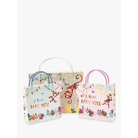 Jack & lily Baby Girl Monkey Gift Bag, Medium