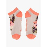 Powder Tropical Print Trainer Socks, Multi
