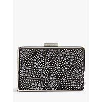Karen Millen Stud Encrusted Clutch Bag, Black