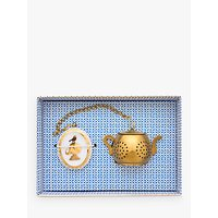 PiP Studio Royal White Tea Infuser, Gold