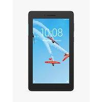 Lenovo Tab E7 Tablet, Android, Wi-Fi, 1GB RAM, 16GB eMCP, 7, Slate Black