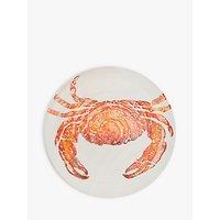 BlissHome Creatures Crab Platter, Orange, 36.5cm