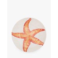 BlissHome Creatures Starfish Dish, Orange, 39cm