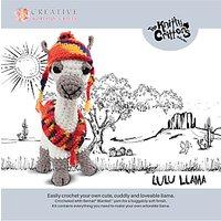 Knitty Critters Lulu Llama Crochet Kit