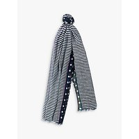 shop for Paul Smith Two Spot Scarf, Navy at Shopo