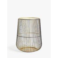 John Lewis & Partners Cage Lantern Candle Holder, Medium