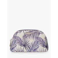 Fenella Smith Palm Cosmetic Case, Blue