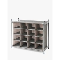 neatfreak! Twill Stackable Shoe Cubby