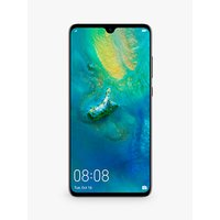 "Huawei Mate 20 Smartphone, Android, 6.53"", 4G LTE, SIM Free, 128GB, Black"