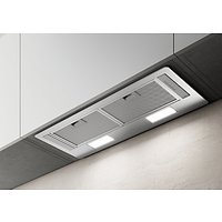 Elica ERA-LUX-SS-60 54cm Built-in Cooker Hood, D Energy Rating, Stainless Steel