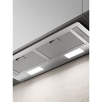 Elica ERA-LUX-SS-80 73.5cm Built-in Cooker Hood, D Energy Rating, Stainless Steel
