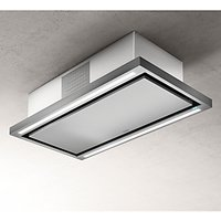 Elica Cloud Seven 90cm Re-circulating Ceiling Cooker Hood, Stainless Steel