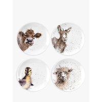 Royal Worcester Wrendale Easter Plates, Set of 4, Dia.21cm